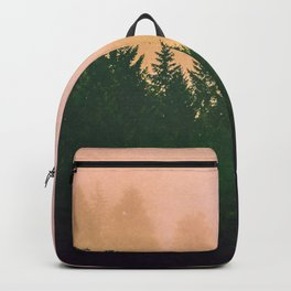Cascadia Green Trees and Sunset Backpack