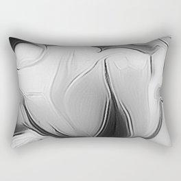 BLack and White Dream Rectangular Pillow