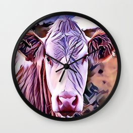 The Jersey Dairy Cow Wall Clock