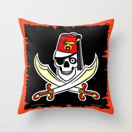 HCSC Pirate Flag Throw Pillow