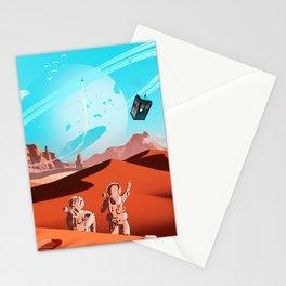 tardis space Stationery Cards