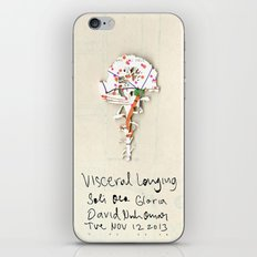 Visceral Longing  iPhone & iPod Skin