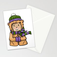A Lion in Winter Stationery Cards