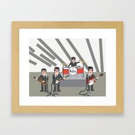 The Ed Sullivan Show Feb 9th 1964 Framed Art Print
