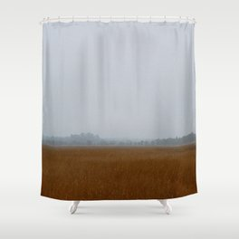 Misty Marsh Shower Curtain