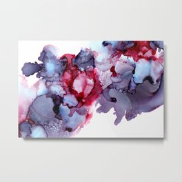 Alcohol Ink Abstract 171221 Metal Print