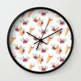 Hawaiian Dream Ice Cream Wall Clock