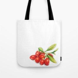 Group o' Goji berries Tote Bag