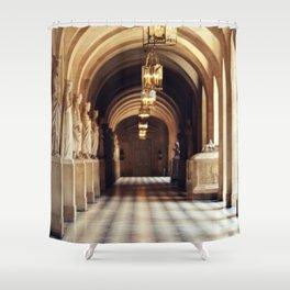 Paris - Inside Versailles Shower Curtain