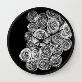 Under the Microscope Wall Clock