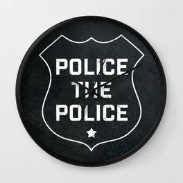 Police The Police Wall Clock