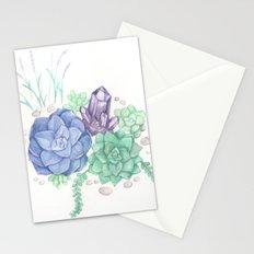 Botanical Succulents Stationery Cards