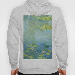 1906-Claude Monet-Waterlilies-73 x 92 Hoody