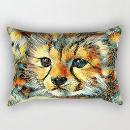 AnimalArt_Cheetah_20170602_by_JAMColorsSpecial Rectangular Pillow