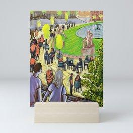 Luxembourg Mini Art Print