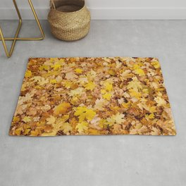 Yellow Autumn Rug