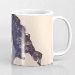"""Egon Schiele """"Frau mit schwarzem Haar (Woman with black hair)"""" Coffee Mug"""