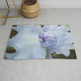 Bearded Iris Lady of Leoness Rug