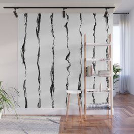 Energy ink stripes Wall Mural