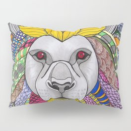 Medusa Lioness Pillow Sham