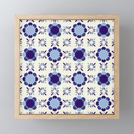 Portuense Tile Framed Mini Art Print