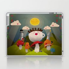 Jolly Coffeesburg (Soy, venti, vanilla latte, sugar-free) Laptop & iPad Skin