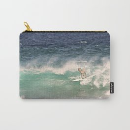 NEVER STOP EXPLORING - SURFING HAWAII Carry-All Pouch