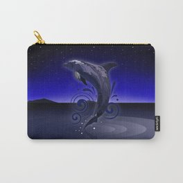 Dolphin - Night Carry-All Pouch