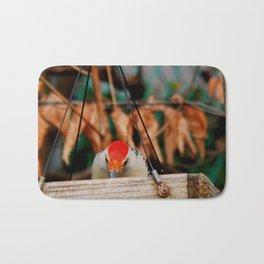 Woodpecker time! Bath Mat