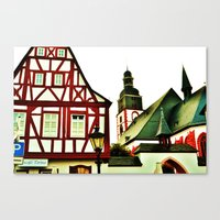 german Canvas Prints featuring German by Ami Trucci