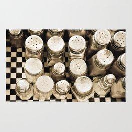 Vintage Salt And Pepper Shakers Rug