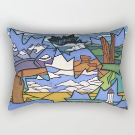FROM SEA TO SEA TO SEA Rectangular Pillow