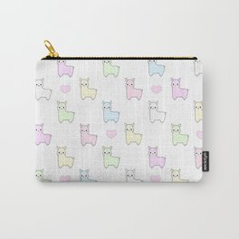 Pastel Pacas Carry-All Pouch