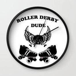 Roller Derby Dude Wall Clock