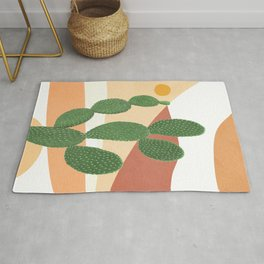 Abstract Cactus II Rug