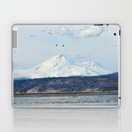 Mt Shasta and Waterfowl Laptop & iPad Skin