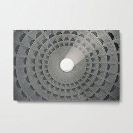 Pantheon Ceiling Metal Print