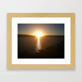 New Mexico Sunset Framed Art Print