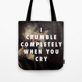 Crying Heraclitus Tote Bag