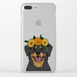 Pretty Pup Clear iPhone Case