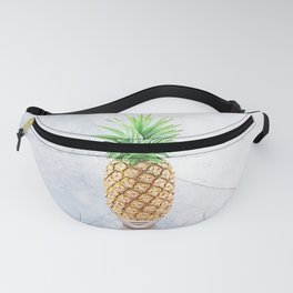 Pineapple Head Collage Fanny Pack