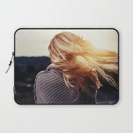 blonde girl Laptop Sleeve