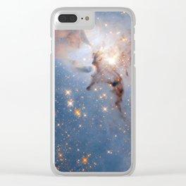 Lagoon Nebula Clear iPhone Case