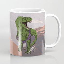 Hulkasaurus Rex - Superhero Dinosaurs Series Coffee Mug
