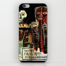 Jean-Michel Basquiat - Notary 1983 iPhone Skin