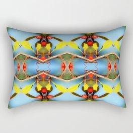 Ornamental Nature Rectangular Pillow