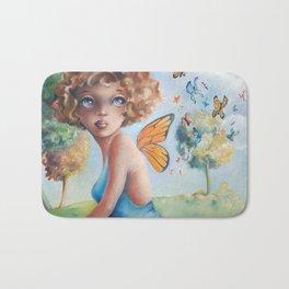 Amelia, Courage to Fly Bath Mat