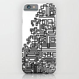 Tree Of Line iPhone Case