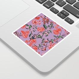 Abstract Florals Sticker