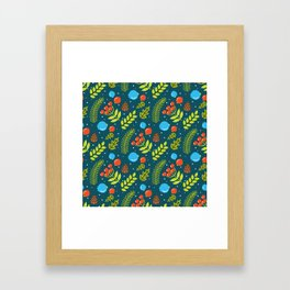 Christimas Pattern Framed Art Print
